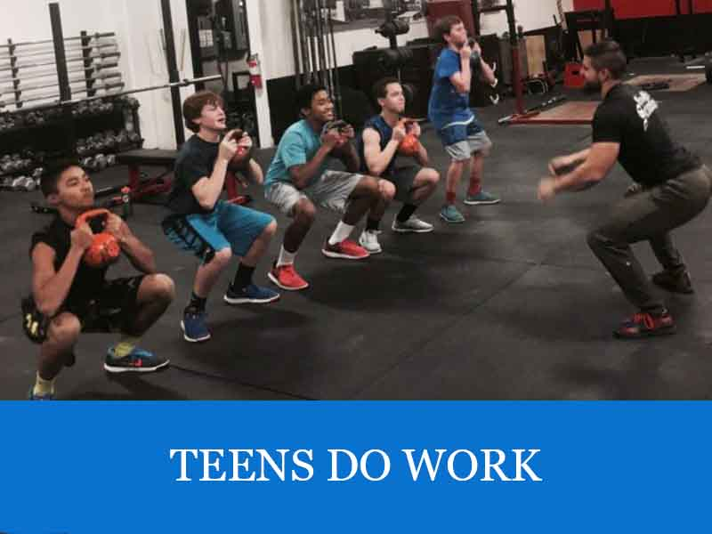 TEENS DO WORK